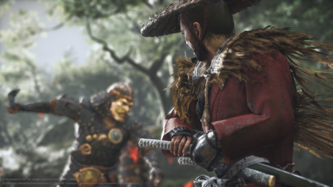 In terms of how they fought, what they wore, it doesn't match your expectations. So we're not sticking exactly to the historical truth of Kamakura-era samurai. It's gonna be a little different.