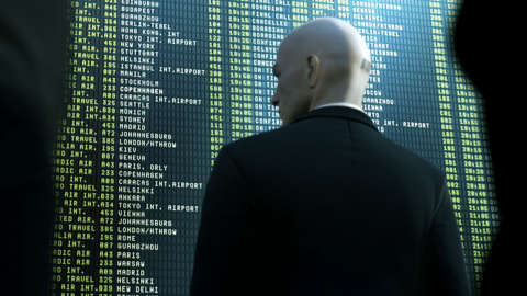 This concept art is the only image of the new Hitman game revealed by IO Interactive