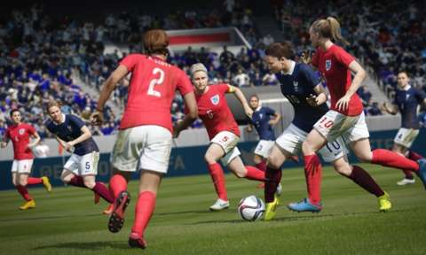 For the first time, FIFA 16 features women's international teams.