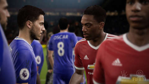 FIFA 17 is, for the first time, being developed on EA's Frostbite engine
