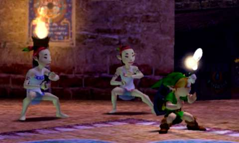 Not quite the weirdest thing Link's ever done.