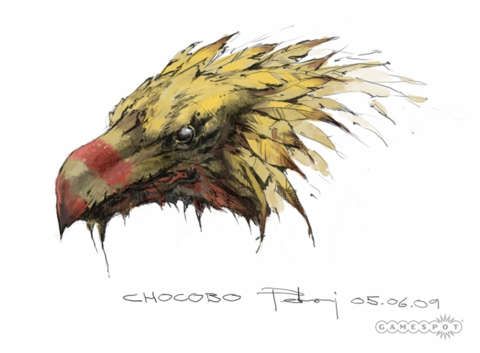 A gritty take on the Chocobo.