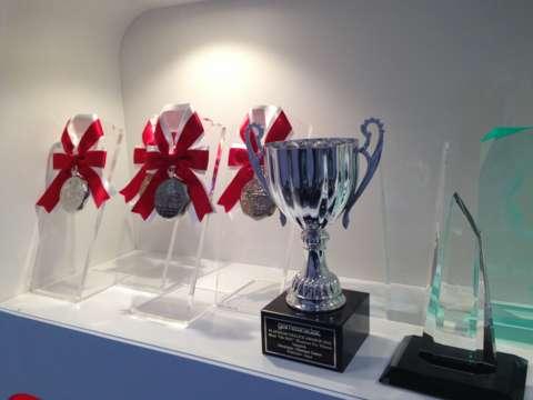 A sampling of Platinum's accolades.