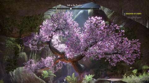 ESO's cherry blossom game is on point.