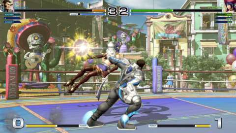 There's a wide variety of different characters, each with distinct movesets.