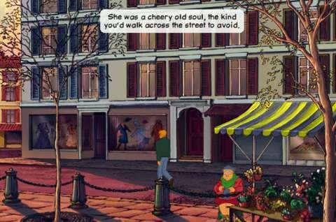 Stobbart's freezing animations do make for amusingly case-in-point screenshots.