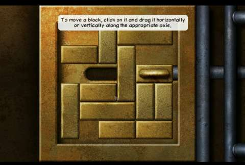 You would think that any block can move horizontally or vertically, but it does not.