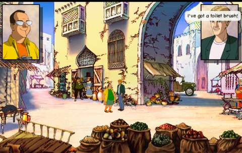 Stobbart can be just as dim as Guybrush Threepwood at times.