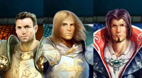 Pick your ridiculously chiselled and fabulously-haired hunk.
