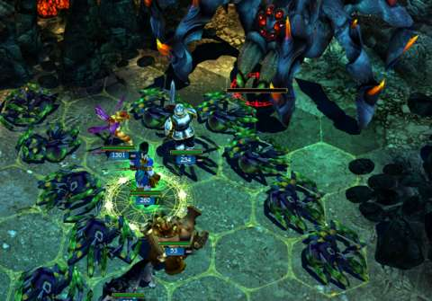 Boss battles can be quite manageable if the player knows that the unit stacks which it spawns can be handled with massive unit stacks of the player's own.