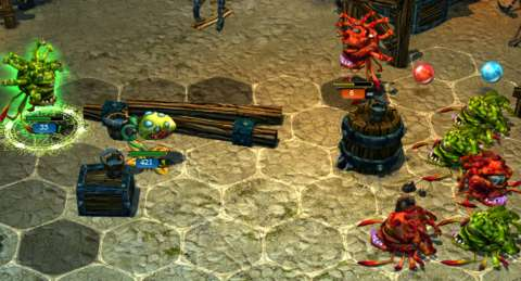 Lina sometimes drops Chargers on the enemy's side of the battlefield, benefiting the opponent instead of the player.