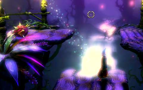 Magic orbs which are left by enemies will conveniently fly towards the player character if they are left alone for a minute.