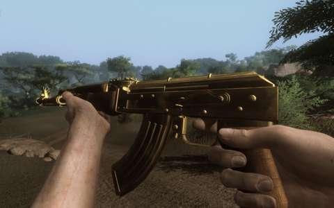 The Golden AK-47.