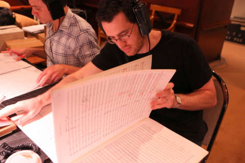 Wintory annotates his score.