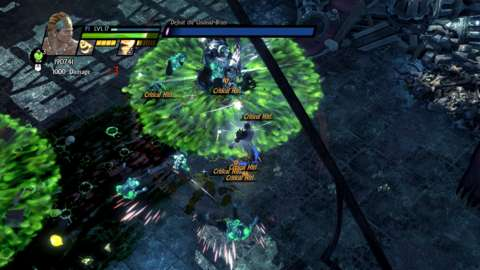 Combat in Sacred 3 is chaotic, relentless, and really, really tedious.