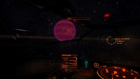 In supercruise, astral bodies fly by like billboards.