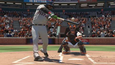 Animations, lighting effects, and stadiums details combine to present truly gorgeous scenes in MLB: The Show 16.