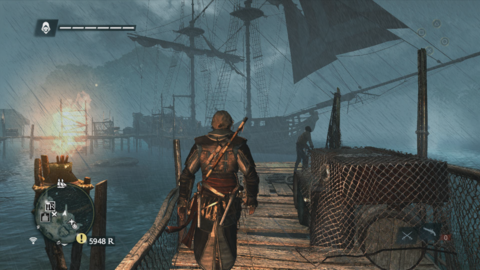 Storms have a way of catching you off guard in Black Flag.