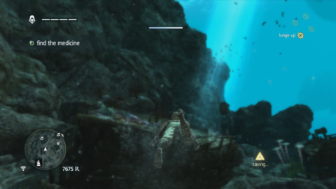 Not all treasures are above water in Black Flag.