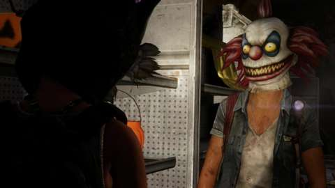 Even though there are infected about, clowns are still pretty creepy.
