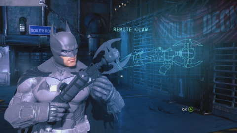Batman's true passion isn't doling out justice. It's ogling gadgets.