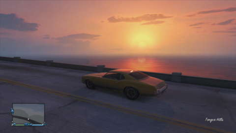 There are some beautiful moments to be had in GTA Online.