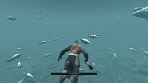 Hunting and spearfishing are necessary to find food.