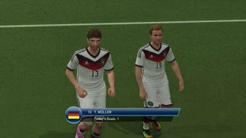 The considered approach to football on offer means unorthodox players like Thomas Muller are more effective here than they are in FIFA.