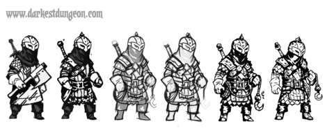 Here are some of the bounty hunters' many iterations.