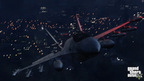 Pilot a fighter jet in GTAV. Why not?