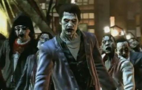 Yakuza + zombies = money.
