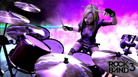 Konami's instrument peripheral suit will no longer be an obstacle to Rock Band 3's release.