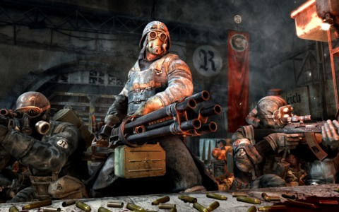 Become one of three deep dwellers from various Metro factions.