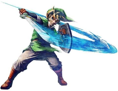 Link is back in Skyward Sword.