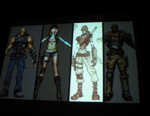 …especially compared to the final characters.