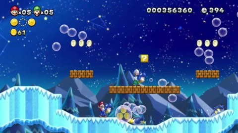 New Super Mario Bros. U is a Wii U launch title.