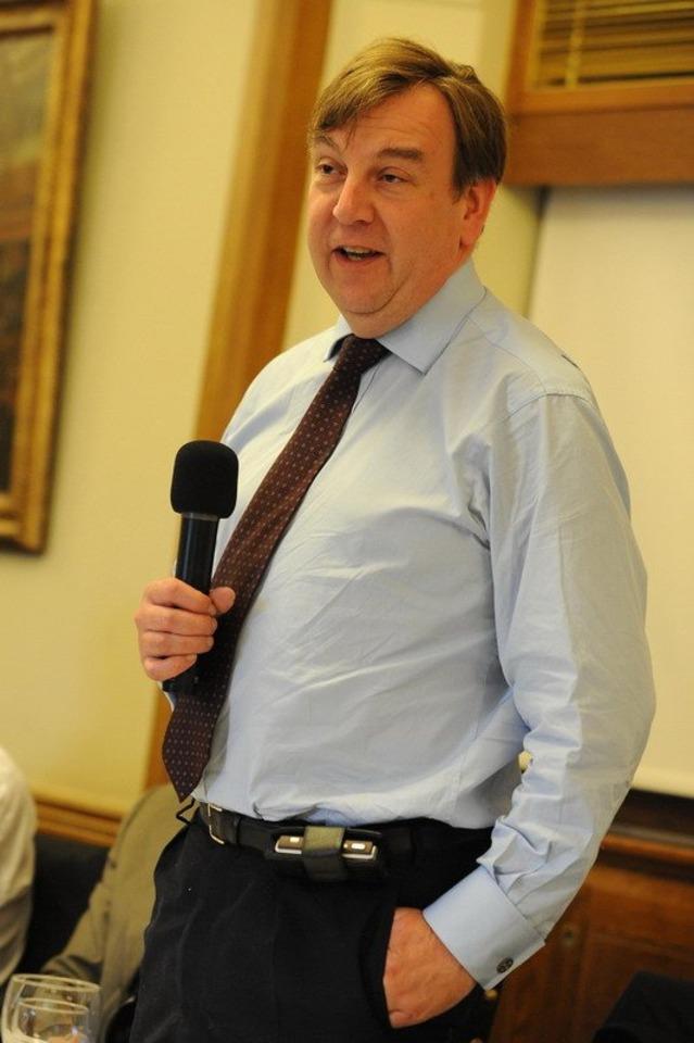John Whittingdale MP.