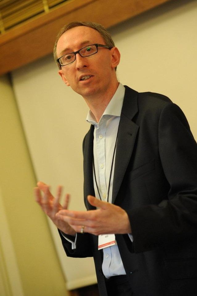 Jon Kingsbury, of NESTA.