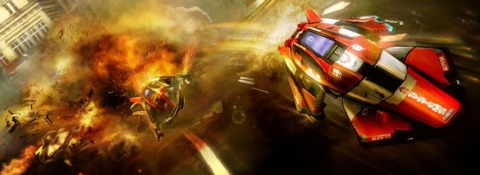 Is this a first look at the next Wipeout?