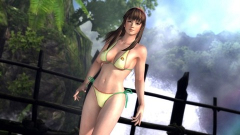 Players asked for bigger breasts, and Team Ninja delivered, Shimbori says.