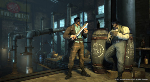 Dishonored has the honor of going gold.