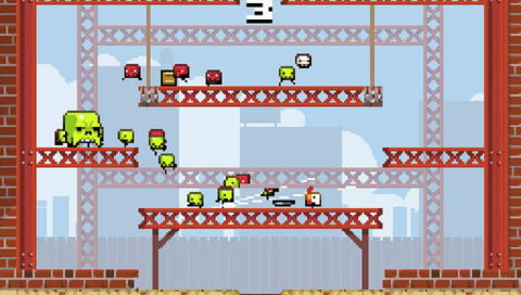 Super Crate Box is one of 16 launch titles for PlayStation Mobile.