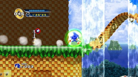 Sonic is even more of a blur in HD.