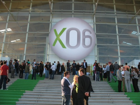 Euro chic meets gamer geek at X06 in Barcelona.