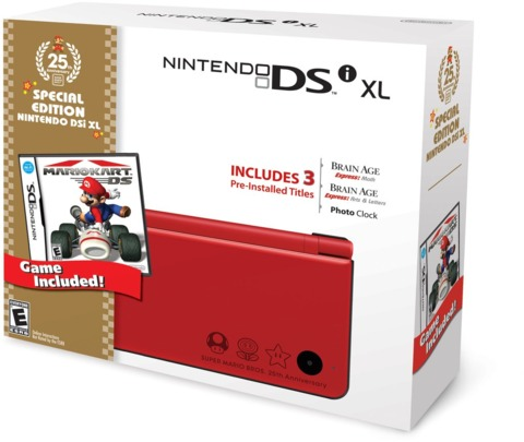 The new DSi XL bundle.