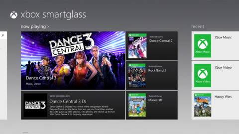 SmartGlass will be available as a downloadable app.