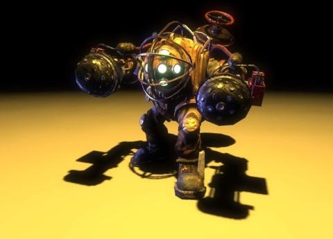 Big Daddies were always in BioShock.