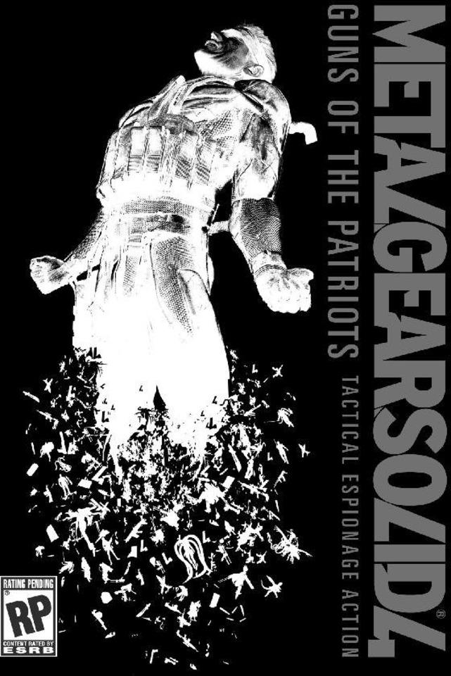 Preliminary box art for Metal Gear Saga 2.0.