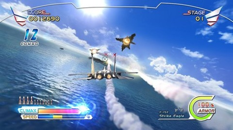 After Burner Climax takes to the skies in just over four weeks.