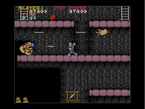 Arthur returns in Ghosts 'n Goblins for the Wii.